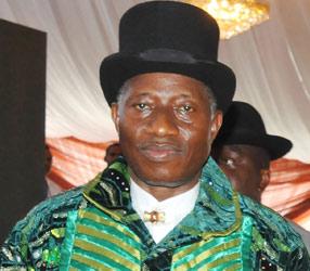 President Goodluck Jonathan'