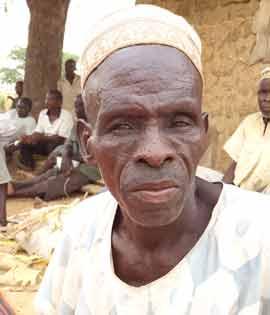 Wasila's father in-law, Sani Garba
