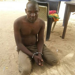 Babuji Ya'ari (A suspected abductor of the Chibok girls).