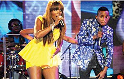 Olawale and Tiwa Savage