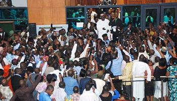 Image result for NASS staff begins 3-day warning strike over unpaid allowances