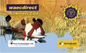 waec card