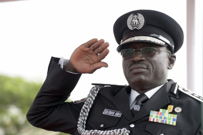 Nigerian police chief Suleiman Abba