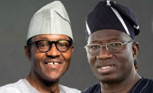Buhari and Jonathan