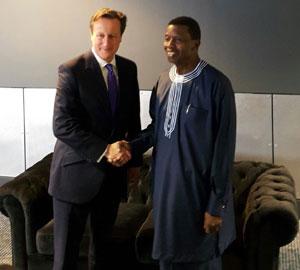 Pastor Adeboye and David Cameron