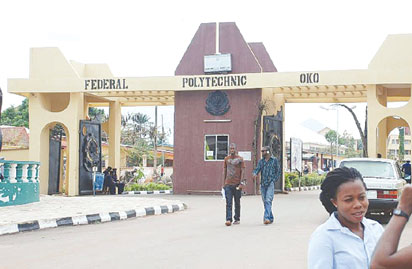 Polytechnics not dumping grounds, Oko Poly Rector tells Nigerians