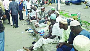 Image result for beggars in ebute metta kano street lagos