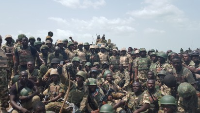 Army approves promotion for 5,000 soldiers fighting Boko Haram