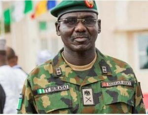 Chief of Army Staff, Lt-Gen. Tukur Buratai