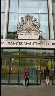 Westminster Magistrate Court, where former Minister of Petroleum Resources, Mrs. Diezani Alision-Madueke was expected to be charged by the British Crime Agency