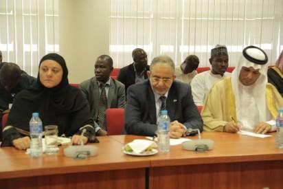 Senate President Bukola Saraki and other Senators, received a delegation from the Advisory Council of the Kingdom of Saudi Arabia, led by Prince Dr. Khalid Bin Abdullah Al Saud