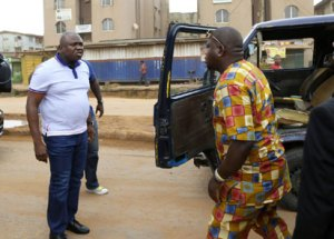 Ambode on the job