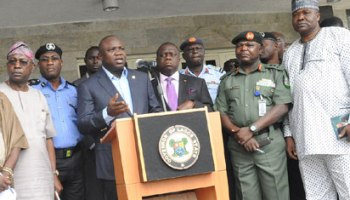 Image result for Ambode reiterates kidnapped students will be freed soon