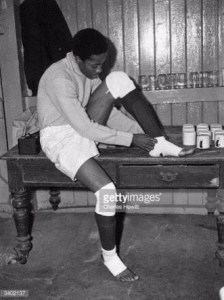 Sam Ibiam in his hey days as Nigeria's national team goal-tender