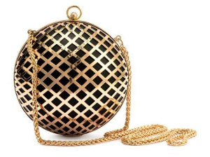 H&M disco ball clutch