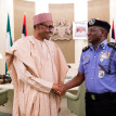 Buhari, IGP meet in Aso Rock