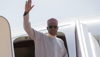 Image result for President Buhari returns to Abuja after week-long vacation