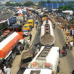 Sea shore protect stalls Apapa trailer park project
