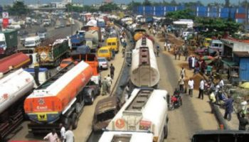 Image result for Apapa road repair: NUPENG says depots outside must be functional