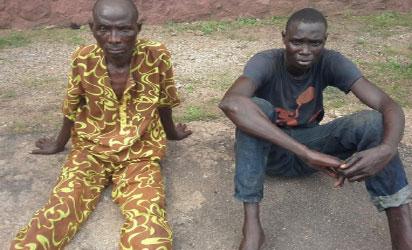 Korede Odubela (left) and Lawal Lekan