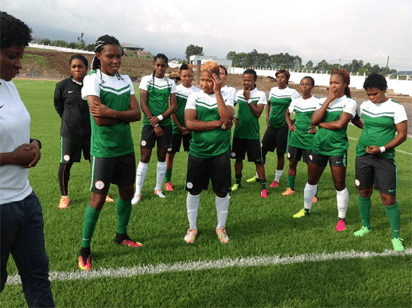 Super Falcons in Cameroon