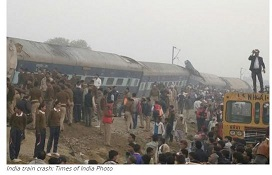 India train crash: Times of India Photo
