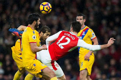 Crystal Palace put Arsenal's top four bid in jeopardy #Nigeria Giroud