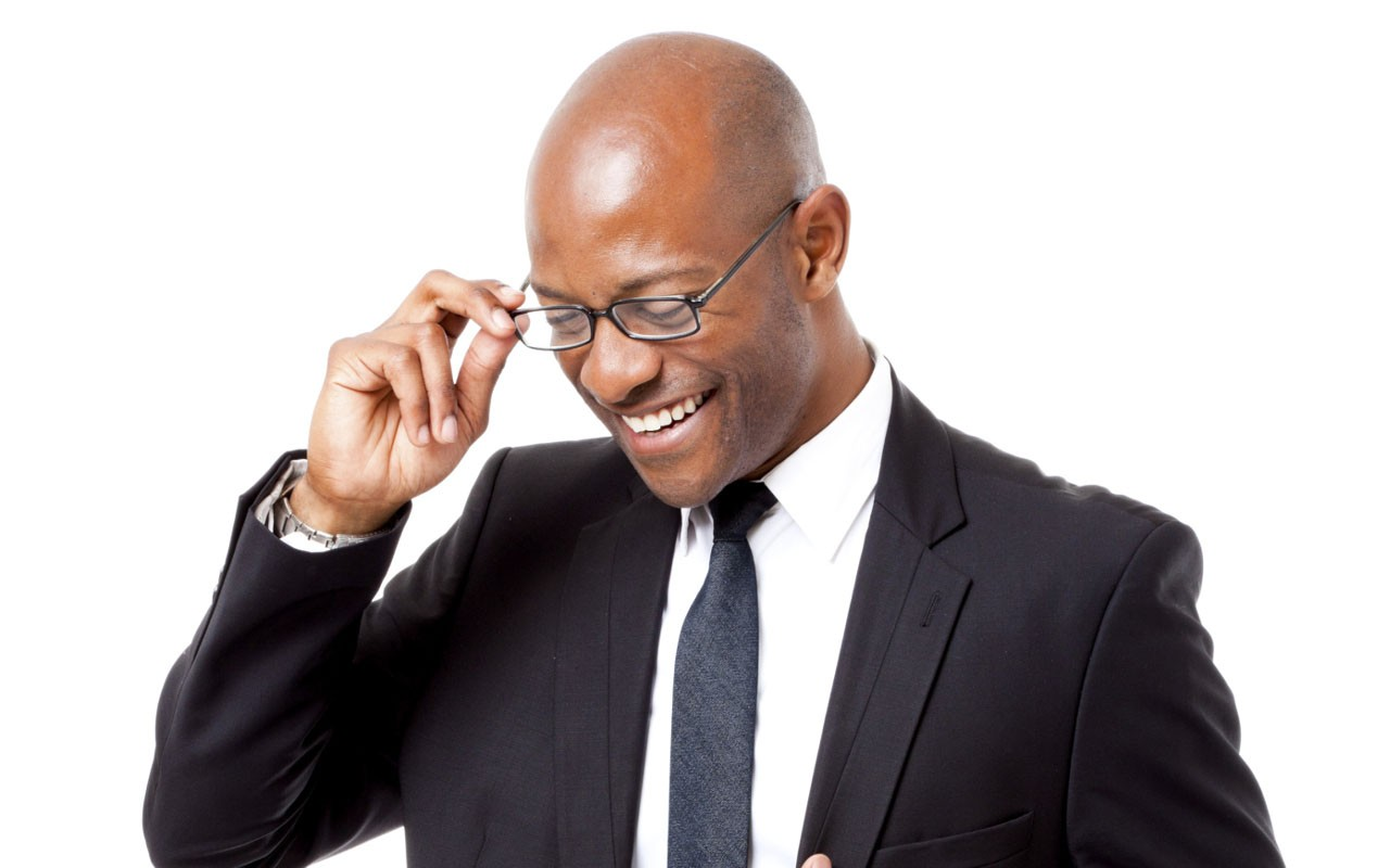 Image result for nigerian man with eyeglasses