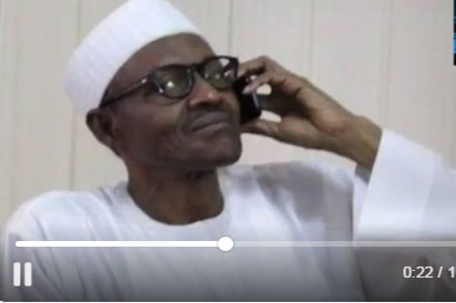 Breaking: Buhari phones Bill Gate, lauds him for for supporting eradication of Polio, HIV in Nigeria