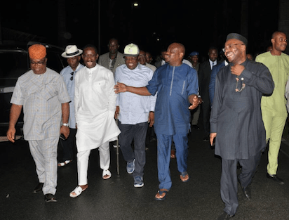 South-South:South-East Governors