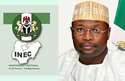 Image result for inages of INEC Chairman, Prof. Mahmood Yakubu