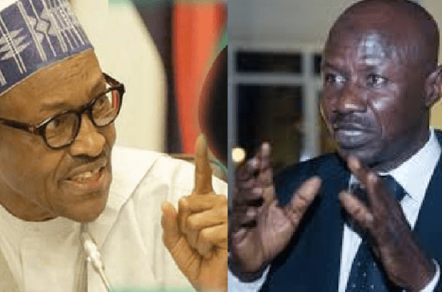 Breaking: Buhari suspends EFCC boss, Magu