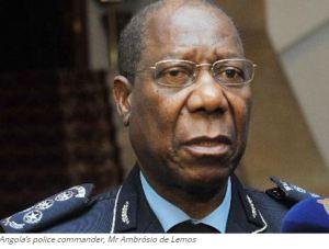 Angola's police commander, Mr Ambrósio de Lemos
