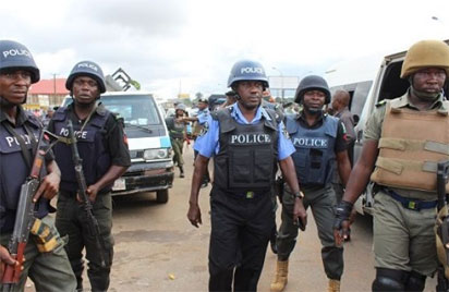 Ondo poll: Security agencies beef up security at INEC office