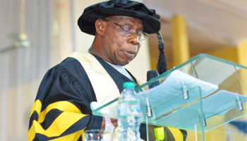 Former President Obasanjo successfully completes PhD programme