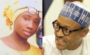 Buhari speaks on Leah Sharibu's 2 years in captivity