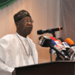 Past government abandoned 800 containers of power equipment- Lai Mohammed