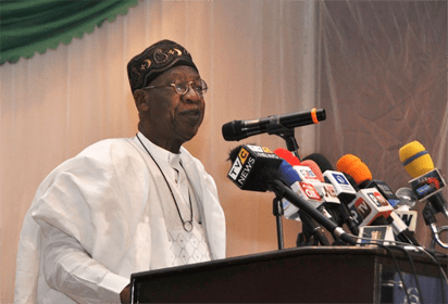 Lai Mohammed urges journalists to use ID