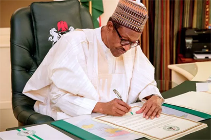 Buhari writes Senate, seeks confirmation of Owasanoye as ICPC chair, others 1