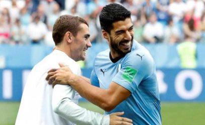 Suarez slams Griezmann over Uruguay comments