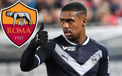 Roma to sign Brazilian winger Malcom from Bordeaux 1
