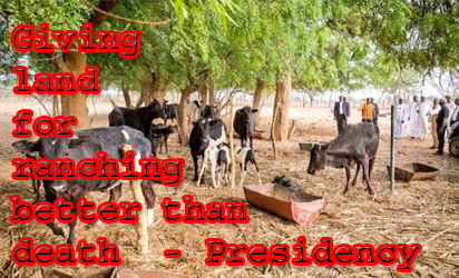 'Ranching is politics, we won't accept it'