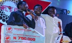 'Priests Got Talent' winner