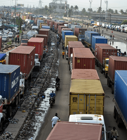 Image result for Apapa gridlock: Senate committee gives owners two weeks to clear trucks, trailers