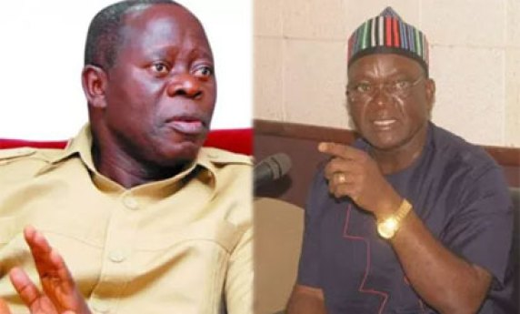 Ortom vs Oshiomhole: Court rejects Oshiomhole's application for stay of proceedings