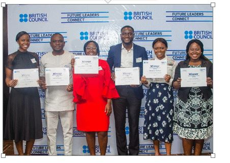 Winners of the British Council Global Future