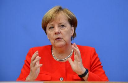 Merkel expresses condolence after former president's son stabbed