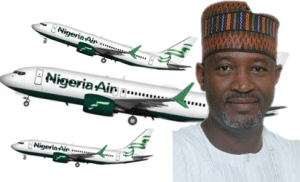 Nigeria air, Sirika, national carrier