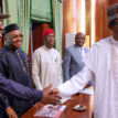 Updated: Our meeting with Buhari has nothing to do withPDP or APC – South South Govs
