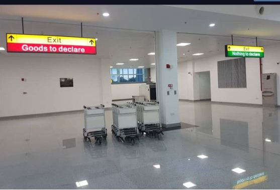 New Port Harcourt Airport Intnl terminal